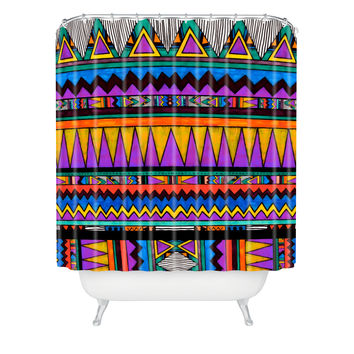 Kris Tate Cotzal 3 Shower Curtain
