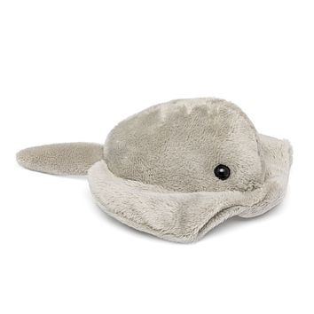"Single Stingray Mini 4"" Small Stuffed Animal, Ocean Animal Toy, Sea Party Favor for Kids"