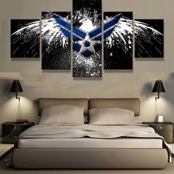 Air Force Eagle Canvas Set