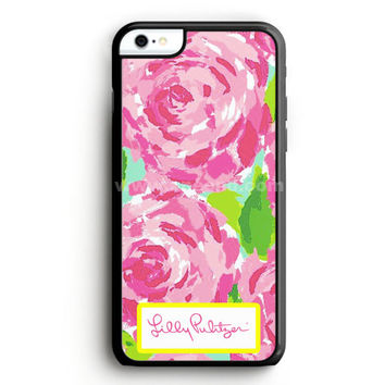 Lilly Pulitzer First Impression Rose Inspired iPhone 6 Case  | Aneend.com
