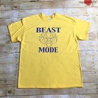 Mens Beast Mode Disney Shirt, Mens Beast Shirt, Family Disney Shirts, Couple Disney Shirts, Mens Disney Trip Shirt, Beauty and The Beast