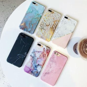 Hard PC Marble Phone Case