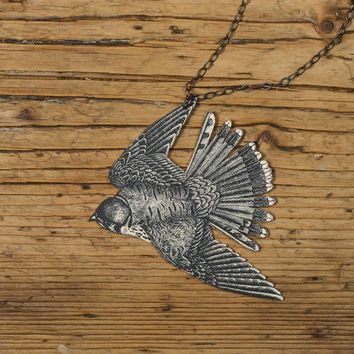 Sparrow Hawk Necklace by mamaslittlebabies on Etsy