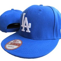 Los Angeles Dodgers New Era MLB 9FIFTY Hat Light Blue-White