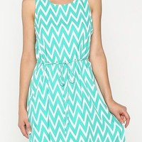 Summer Chevron Dress