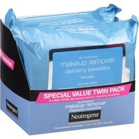 Neutrogena Makeup Remover Cleansing Towelettes, 25 sheets, (Pack of 2) - Walmart.com