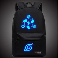 Naruto Glow In The Dark School Backpack
