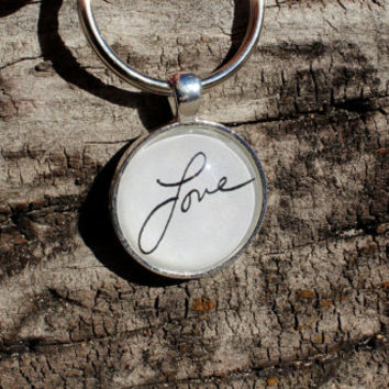 Personalized Signature Message Keychain
