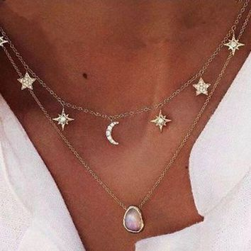 Moon Star Choker