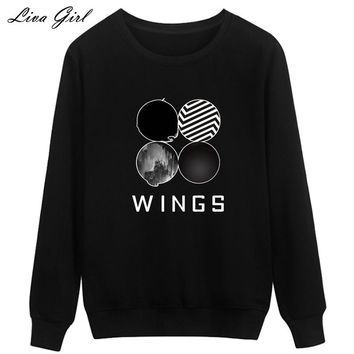 New 2017 Spring ladies girl Harry Potter glasses Sweatshirts long sleeve pull O-Neck hoodie harajuku casual clothing wings cat