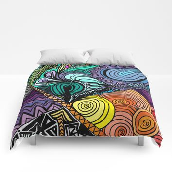 Extrovert Comforters by DuckyB