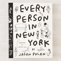 Every Person In New York By Jason Polan - Urban Outfitters