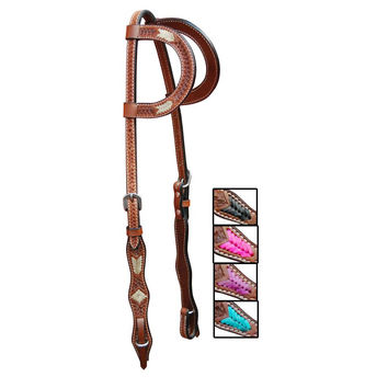 Turn-Two Equine Cheyenne Double Ear Headstall