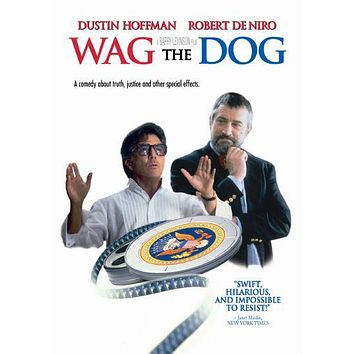 Wag The Dog poster Metal Sign Wall Art 8inx12in