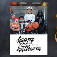 Script Halloween Halloween Cards by aticnomar | Minted