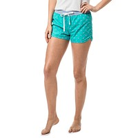 Women's Skipjack Lounge Short in Patina by Southern Tide