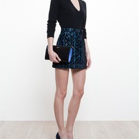 BALENCIAGA | Silk Blend Jacquard Mini Skirt | Browns fashion & designer clothes & clothing