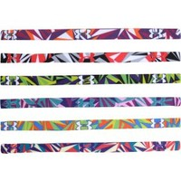 Under Armour Women's Shattered Print Mini Headbands