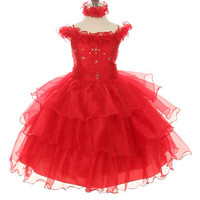 Sparkling Star Toddler/Little Girl Formal Dress