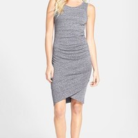 Ruched Body-Con Tank Dress,