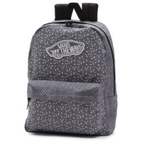 Vans Mixed Chambray Realm Backpack (Black)