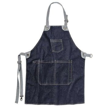 CREYYN3 Toad & Co Arlo Apron - Men's One Size - Dark Denim
