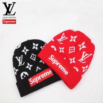 ABHCXX Supreme x Louis Vuitton Beanie
