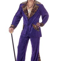 California Costumes Male Pimp Costume CC00839