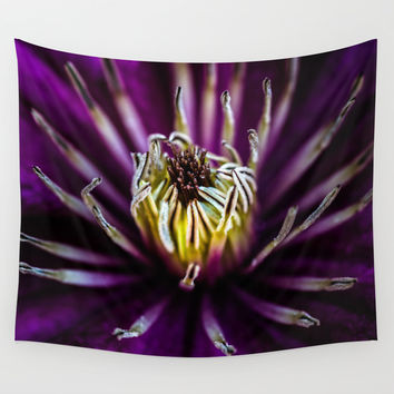 Flower universe Wall Tapestry by HappyMelvin