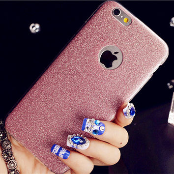 For iPhone 6 4.7'' Case Luxury Glitter Bling Crystal Diamond Silicone Case Case for Iphone 6 Plus 5.5'' Silicone Back Cover 1520