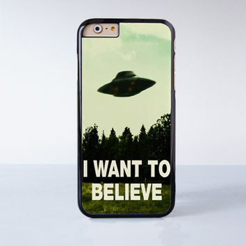 I Want To Believe The X Files Movie Plastic Case Cover for Apple 98b7442d9