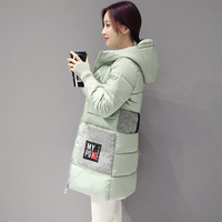 Padded Winter Korean Plus Size Thicken Hats Cotton Jacket [8895736070]