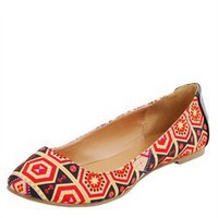 Qupid Tessa200 Red Pantent Rhinestone Bow Detail Flats and Womens Fashion Clothing  Shoes - Make Me Chic