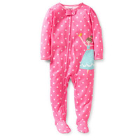 1-Piece Polka Dot Dancer Pjs