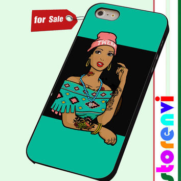 Pocahontas Hipster custom case for smartphone case