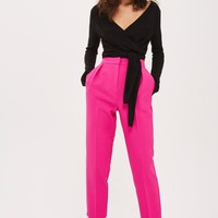 Knitted Wrap Top - Tops - Clothing