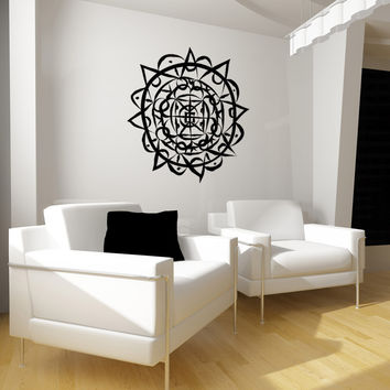 Vinyl Wall Decal Sticker Aztec Art #OS_MB958