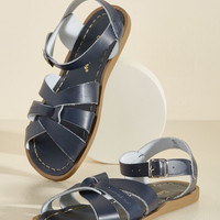 Salt Water Leather Sandal