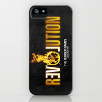Hunger Games - Revolution iPhone & iPod Case by Cloz000