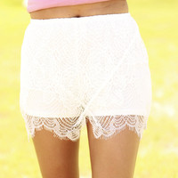 Love and Lace Shorts
