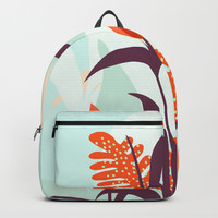 Orange Blooms #society6 #decor #buyart Backpack by mirimo