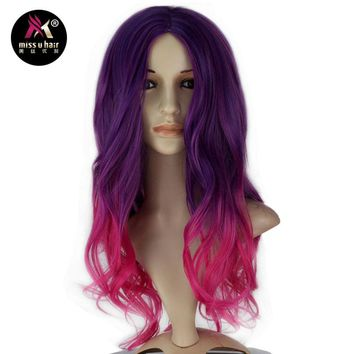 Mimi Ombre Purple Cosplay WIg