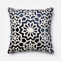 Loloi Navy / Ivory Decorative Throw Pillow (P0022)