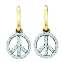 Diamond Fashion Earrings in 10k Gold 0.25 ctw