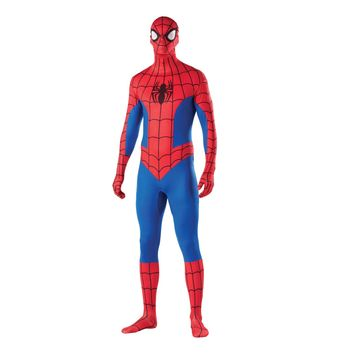 MARVEL 2ND SKIN SPIDER-MAN JUMPSUIT ADULT COSTUME
