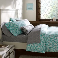 Damask Duvet Cover and Pillowcases