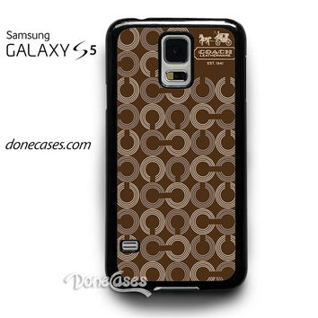 chelsea coach pattern case for Samsung Galaxy S5 Case