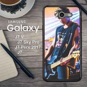 Calum Hood 5 Seconds Of Summer V0307 Samsung Galaxy J7 V , J7 Sky Pro, J7 Perx 2017 SM J727 Case
