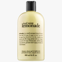 philosophy Iced Mint Lemonade Shampoo, Shower Gel & Bubble Bath (16 oz)