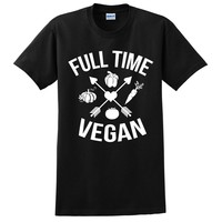 Full time vegan veggie vegan sport T Shirt